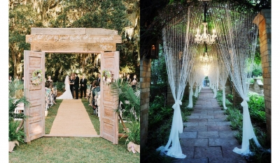 Wedding Trend Watch: Entrances