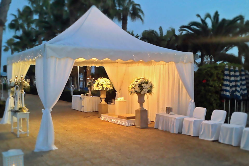 White Palace Marquees