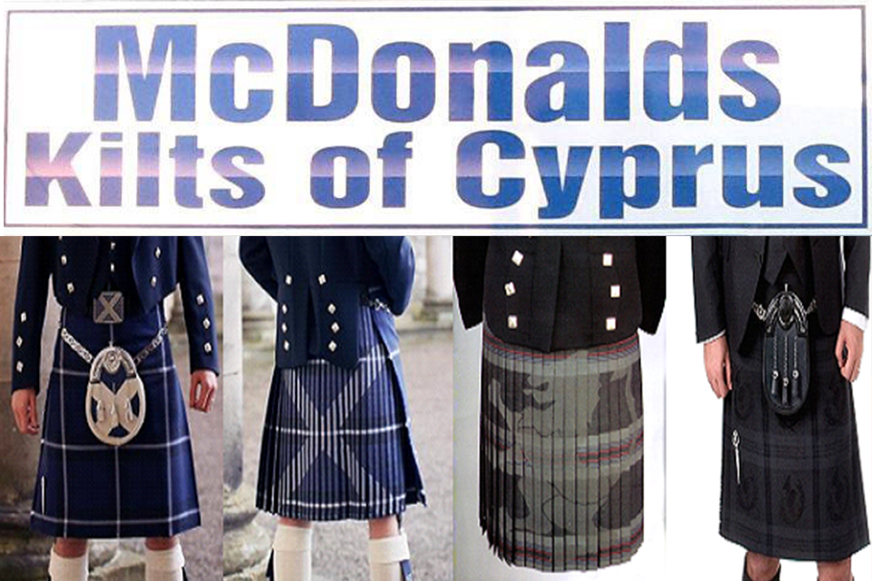 McDonalds Kilts of Cyprus