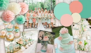 Colour Inspiration: Mint and Peach