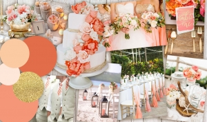 Colour Inspiration: Coral and Gold