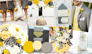 Colour Inspiration: Grey and Yellow