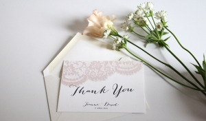 Our Guide to Thank You Cards