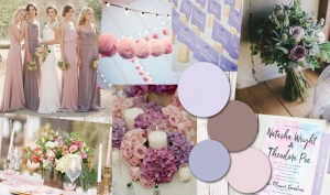 Colour Inspiration: Pale Pink and Lilac
