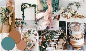 Colour Inspiration: Eucalyptus and Copper