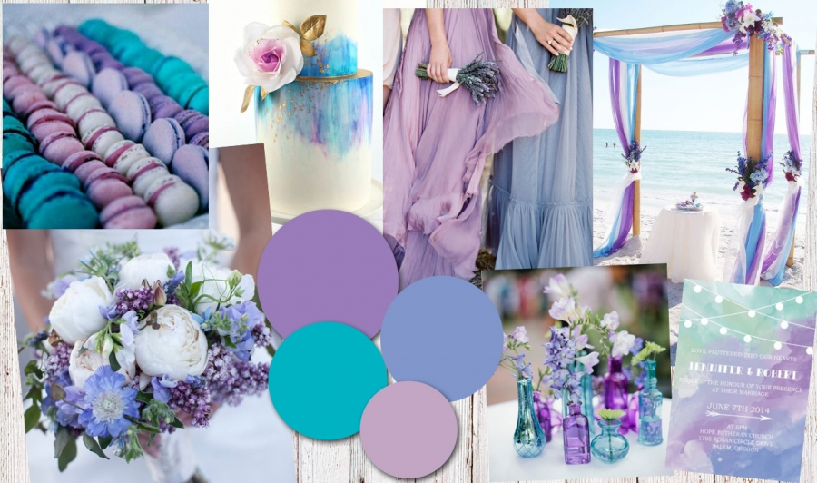 Colour Inspiration: Blue and Purple