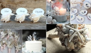 Sweet Sea Shell Wedding Decor